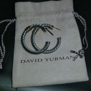 David Yurman Large Hoop